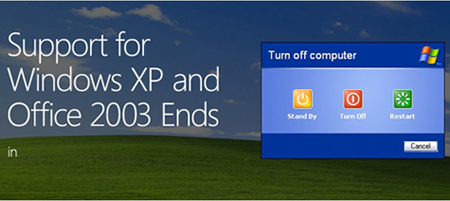 Tech Tips – The end is nigh for XP